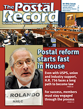 The Postal Record: March 2017 (Vol. 130, No. 3)
