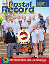 The Postal Record: November 2017 (Vol. 130, No. 11)