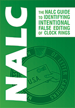 The NALC Guide to Idnetifying Intentional False Editing of Clock Rings